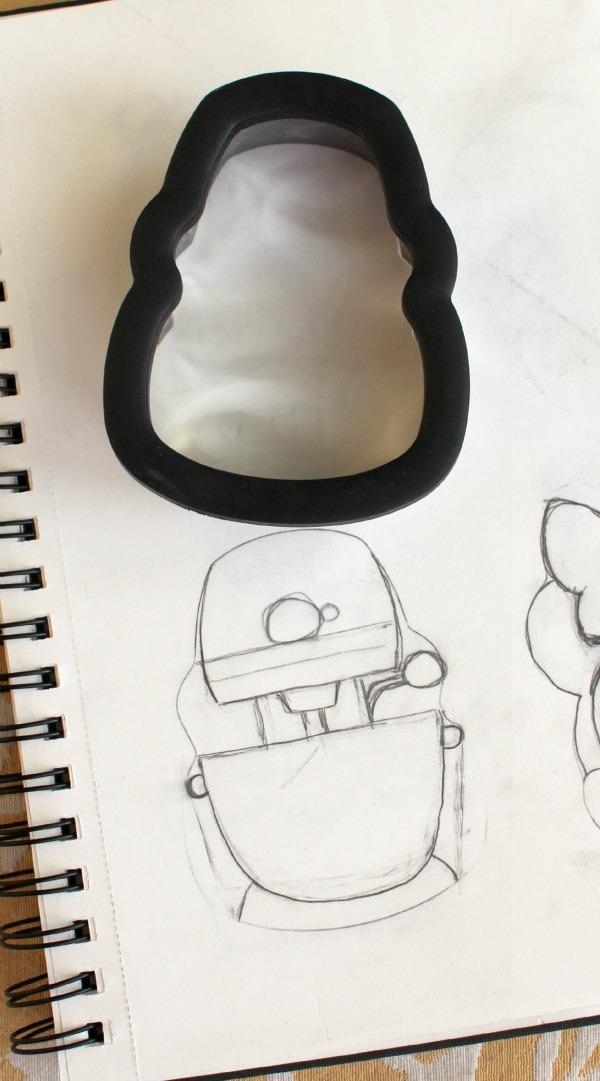 Kitchenaid Cookie Sketch