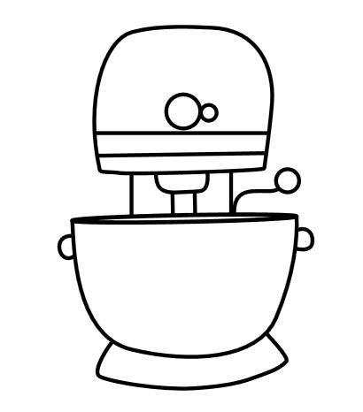 Mixer Illustration