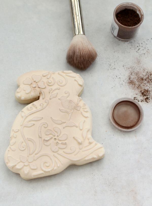 Vintage Floral Bunny Cookies 8