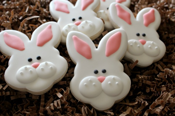 Bunny Face Cookies 2