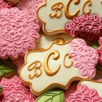 Floral Plaque Cookies 2