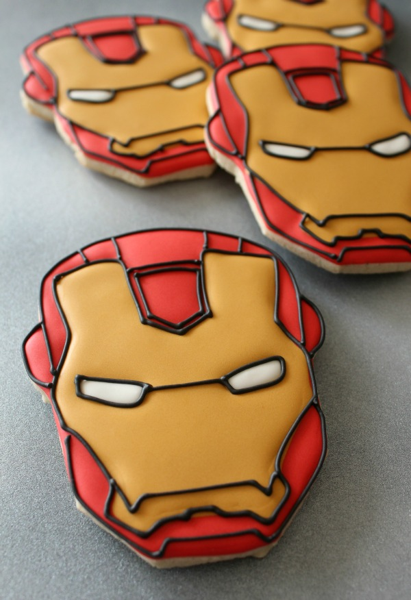 Iron Man Cookies_SweetSugarBelle11