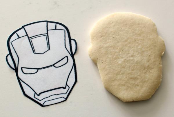 Iron Man Cookies_Sweetsugarbelle1