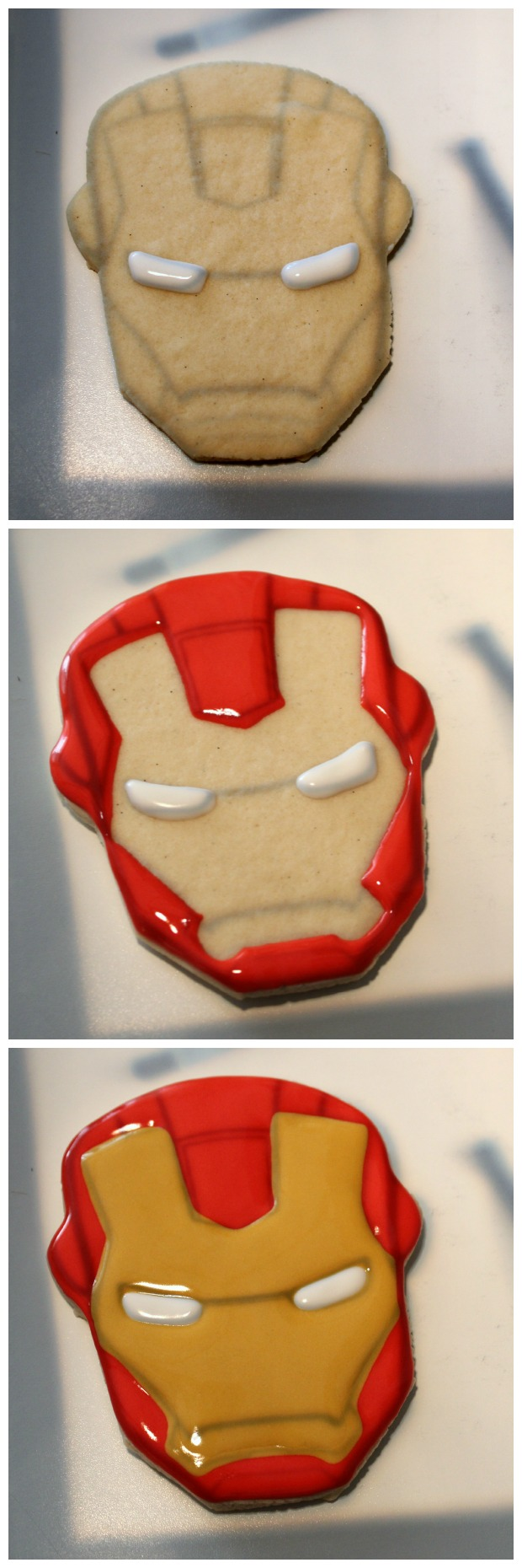 Iron man cookies sweetsugarbelle3