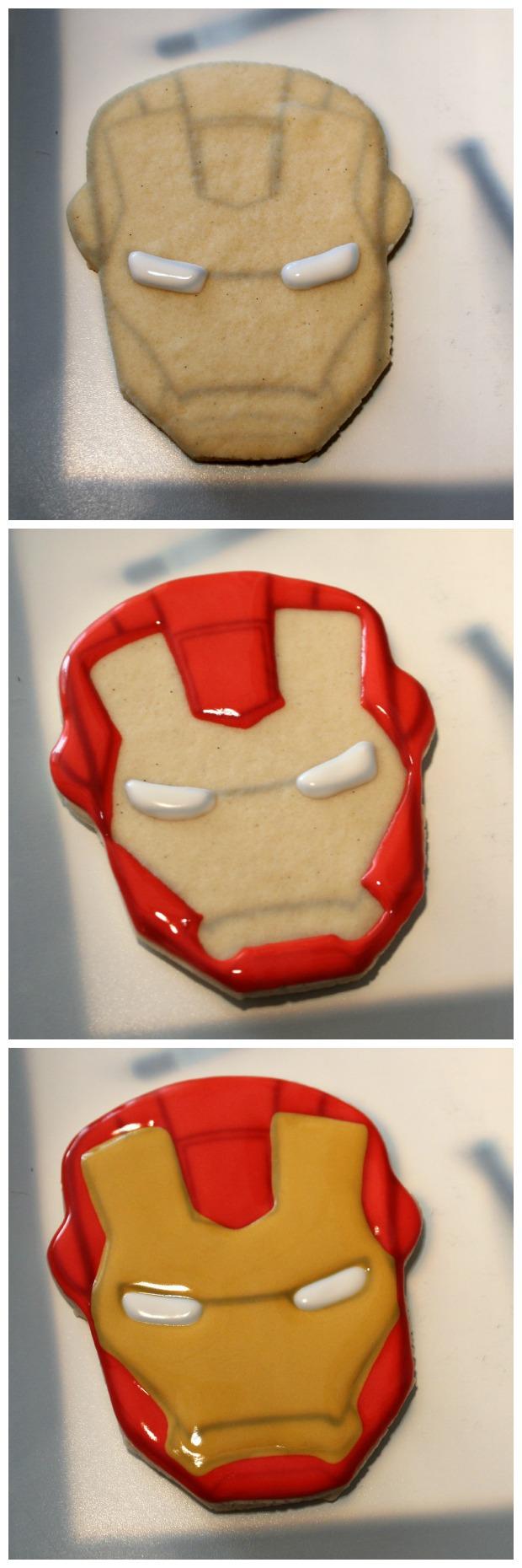 Iron Man Cookies_Sweetsugarbelle3
