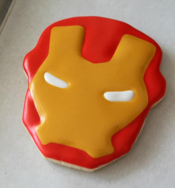 Iron Man Cookies_Sweetsugarbelle5