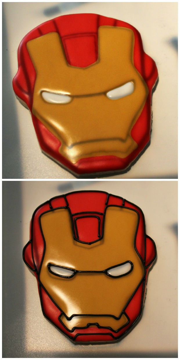 Iron Man Cookies_Sweetsugarbelle7
