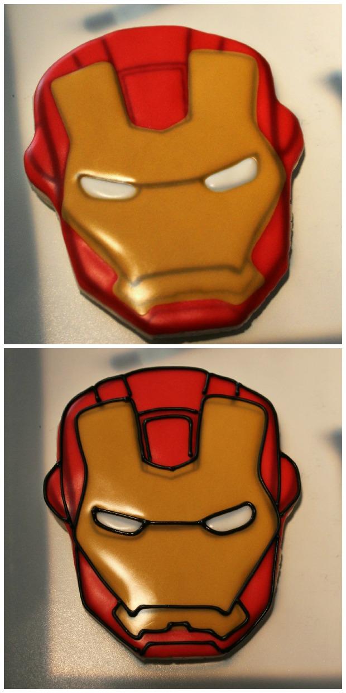 Iron Man Cookies_Sweetsugarbelle7