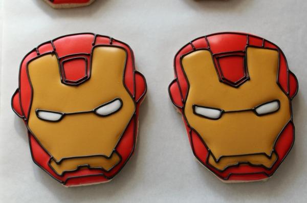 Iron Man Cookies_Sweetsugarbelle8