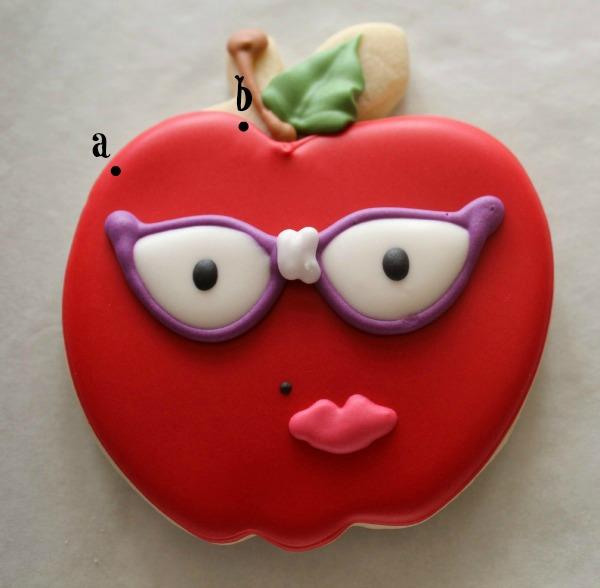 Nerdy Apple Cookie_Sweetsugarbelle