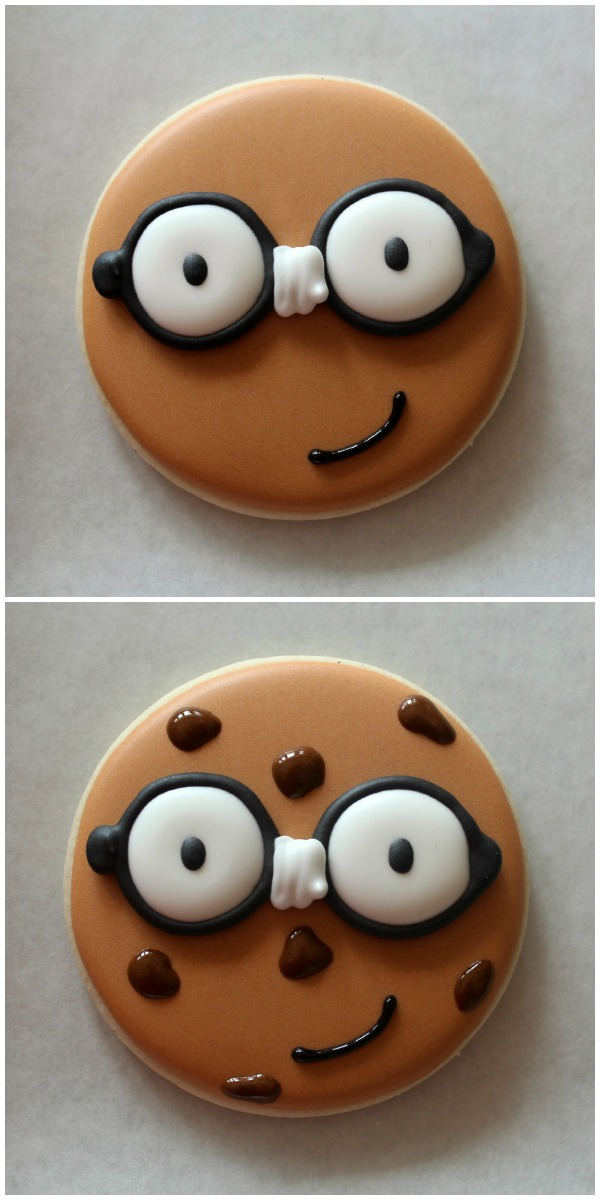 Nerdy Decorated Cookies
