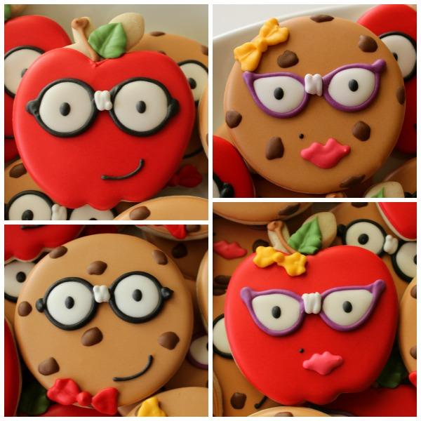 Nerdy Teacher Cookies