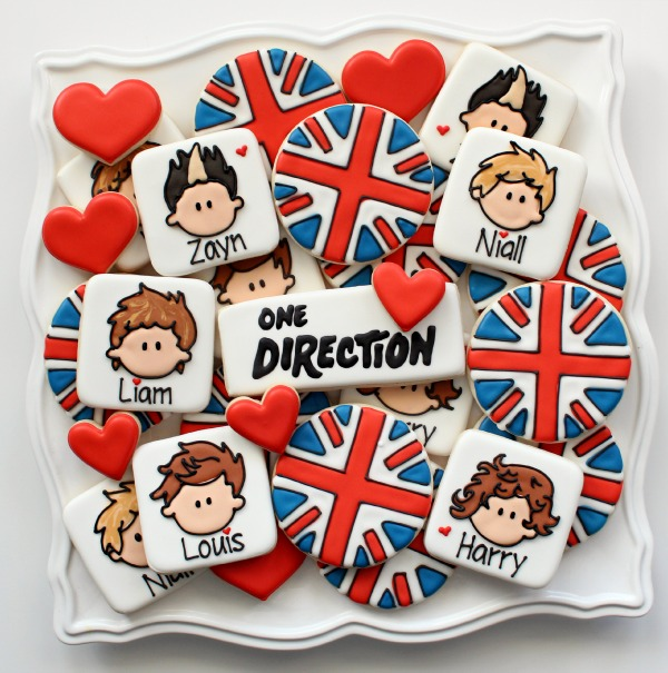 One Direction Cookies