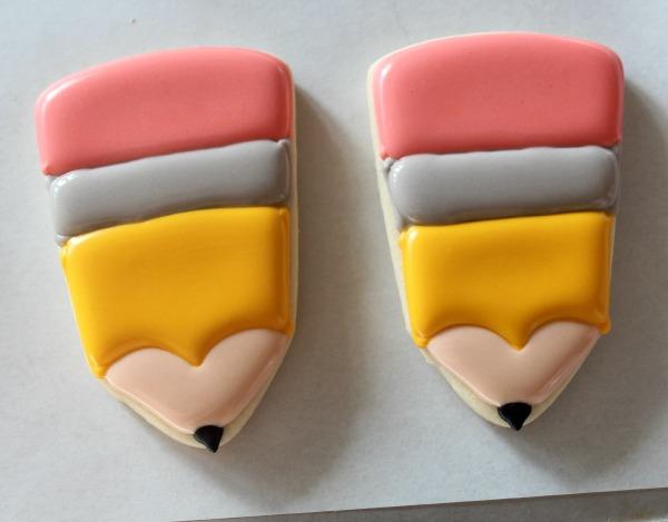 Pencil Cookies 5