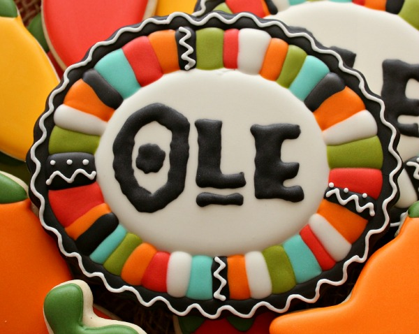 Fiesta Border Cookie