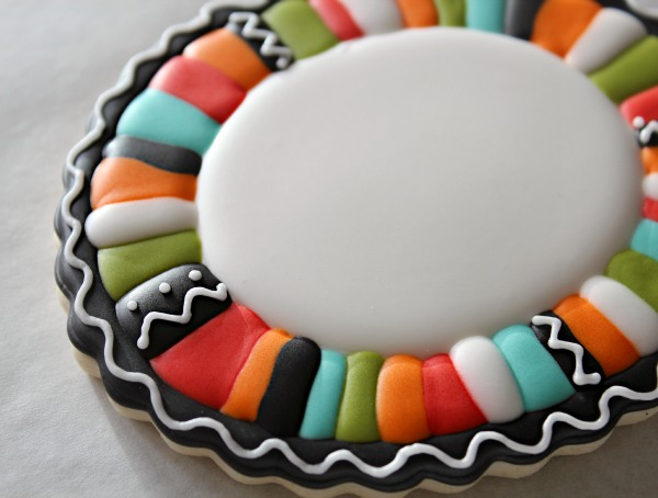 Fiesta Cookie Border 3