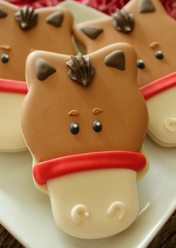Horse Face Cookie 10