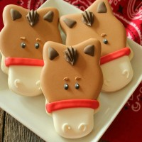 Horse Face Cookie 11