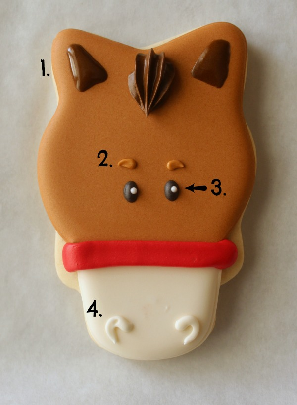 Horse Face Cookie 7