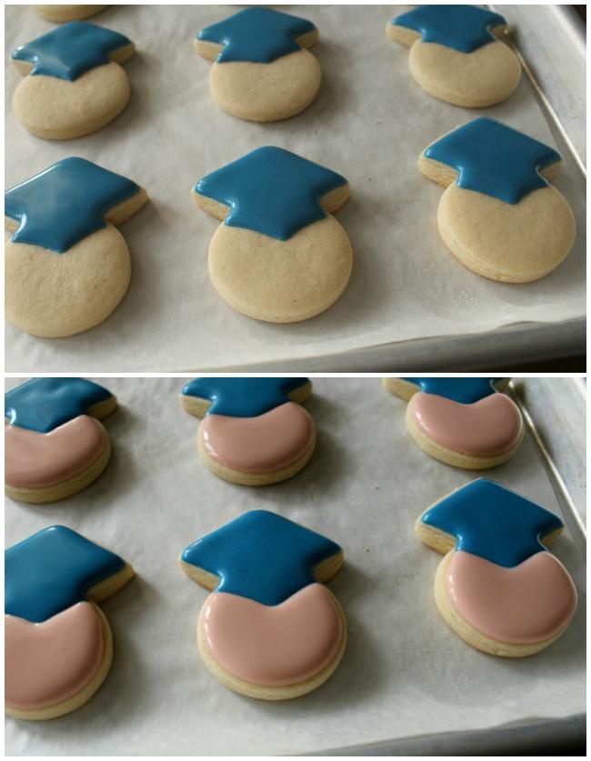 Mini Graduate Cookies