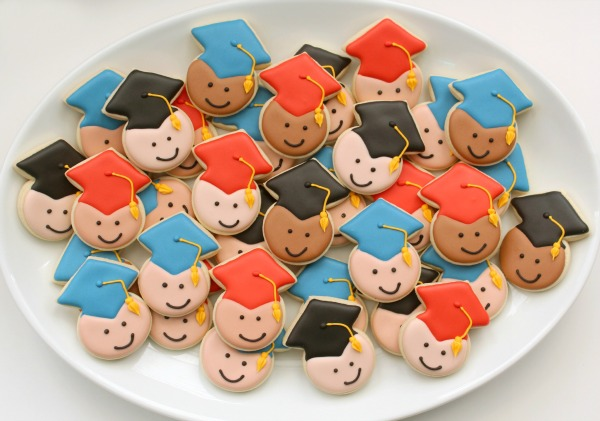 Mini Graduation Cookies