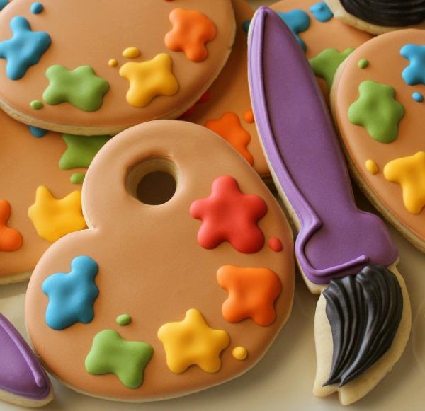 Paint Palette Cookie 2