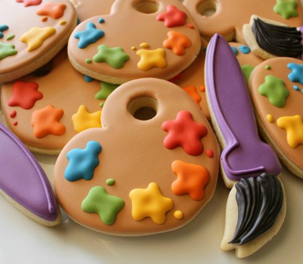 Paint Palette Cookies 3