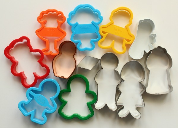 Standing Graduate Cookie Cutters