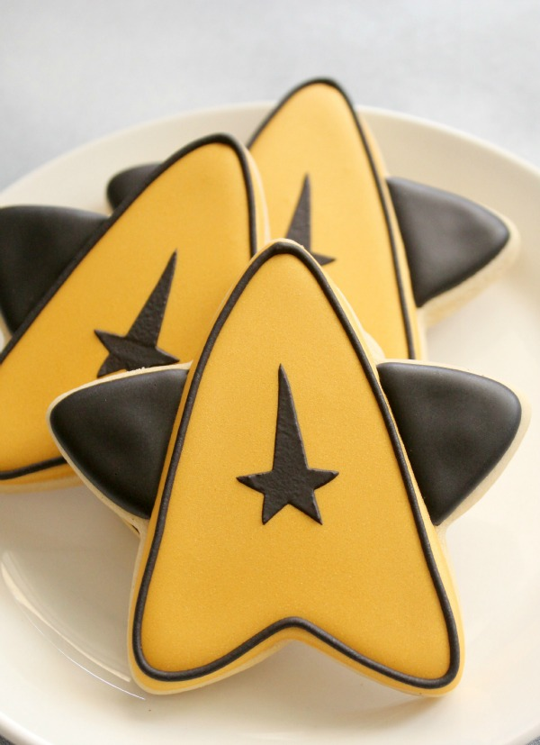 Star Fleet Insignia Cookie 2
