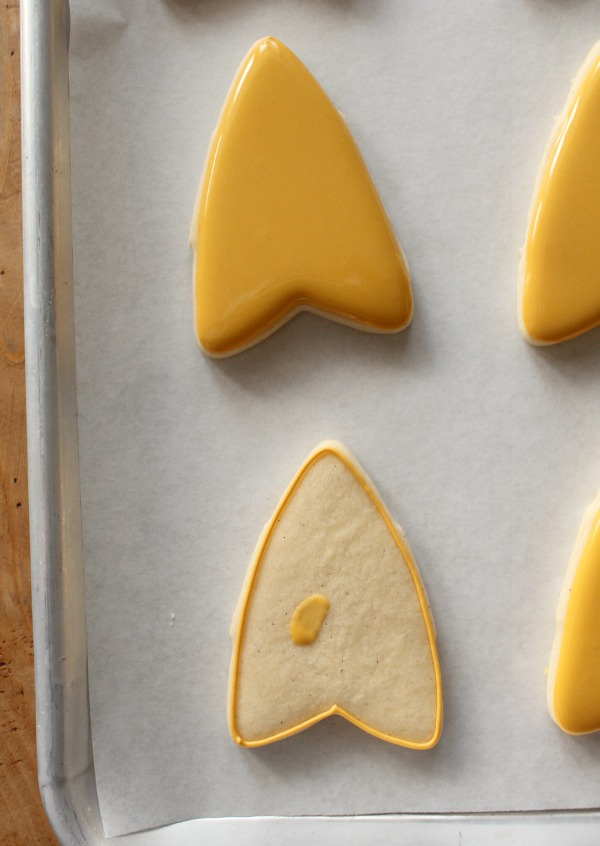 Star Trek Insignia Cookie 2