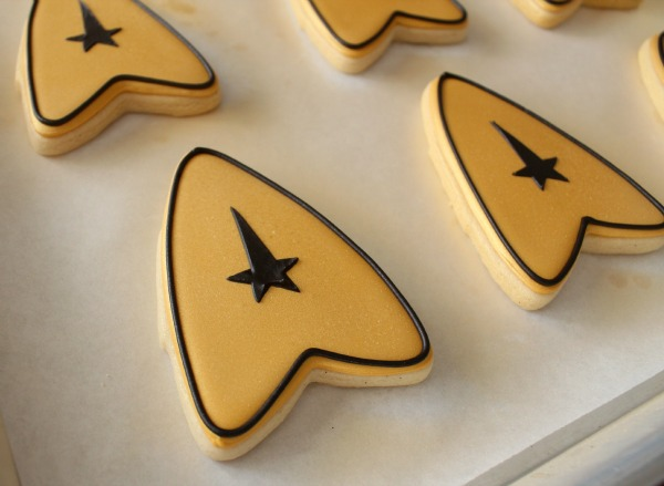 Star Trek Insignia Cookie 7