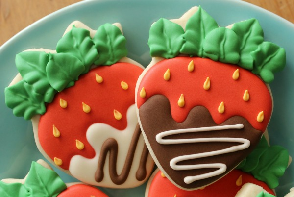 Chocolate Covered Strawberry Cookies 2
