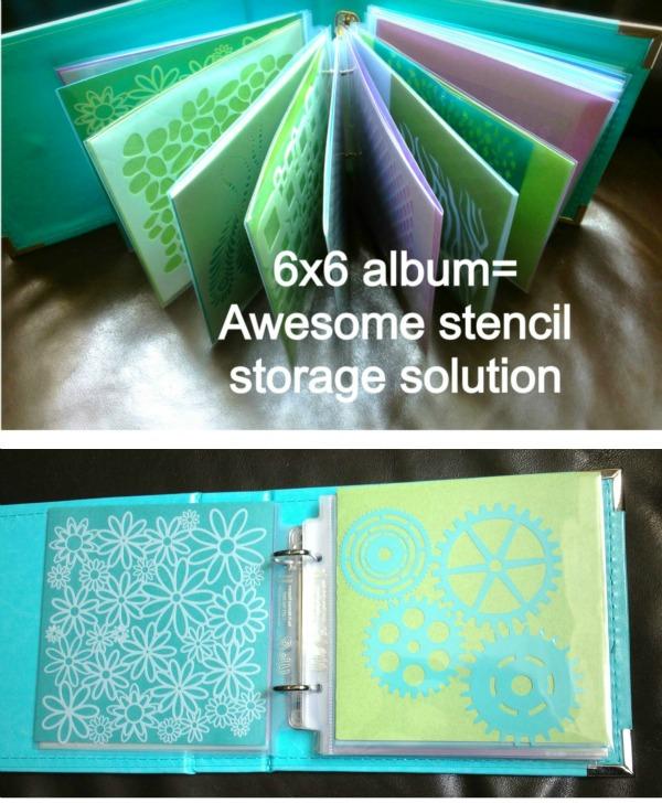 Cookie Stencil Storage via SugarNosh Treats
