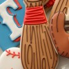 Cute Baseball Bat Cookies