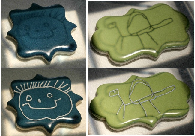 Father's Day Cookies with Kids