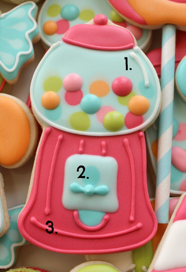 Gumball Machine Cookies 7
