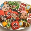 Jake and The Neverland Pirate Cookies