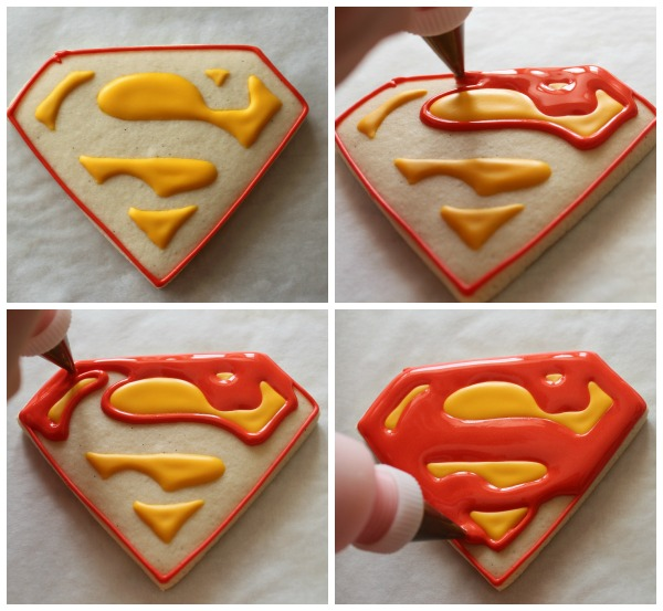 Make Superman Cookies