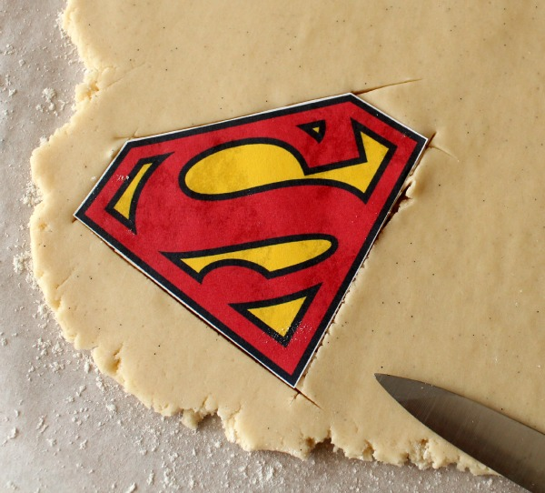 Man of Steel Cookies