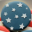 Navy Blue Star Cookie