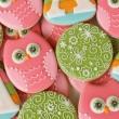 Pastel Owl Cookies_Sweetsugaebelle