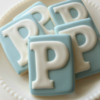 Perfect Monogram Cookies