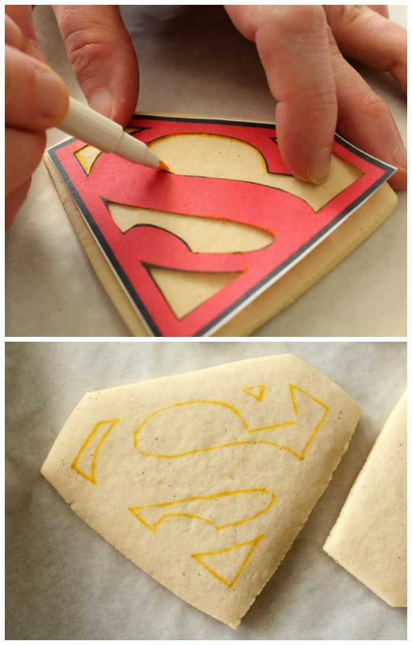 Perfect Superman Cookies
