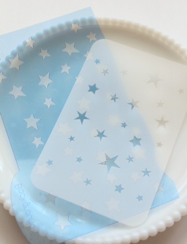 Star Cookie Stencils