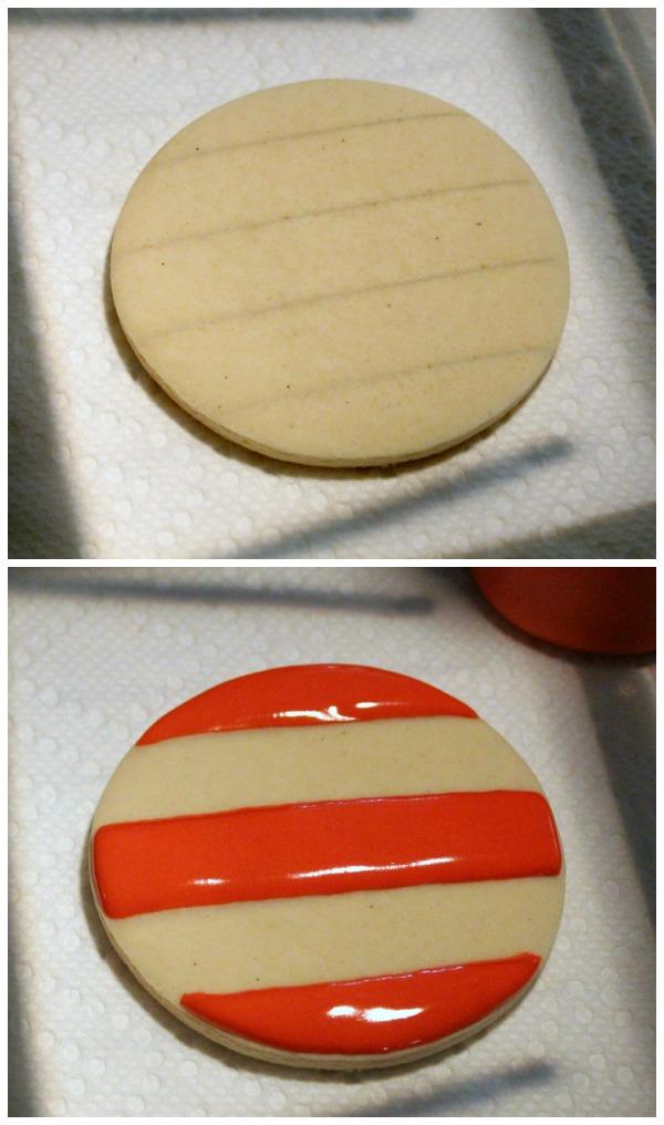 Straight Lines on Cookies Sweetsugarbelle