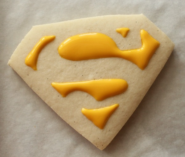 Superman Cookies 1