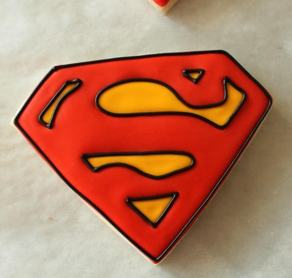 Superman Cookies 3