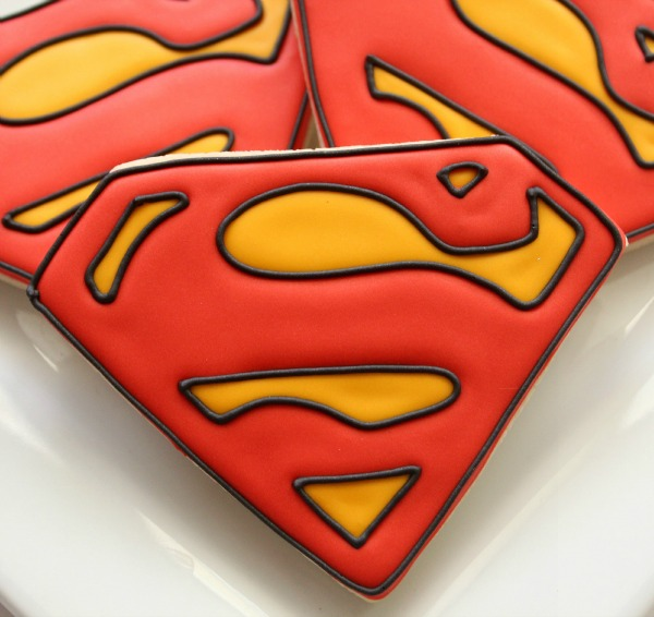 Superman Cookies SweetSugarBelle