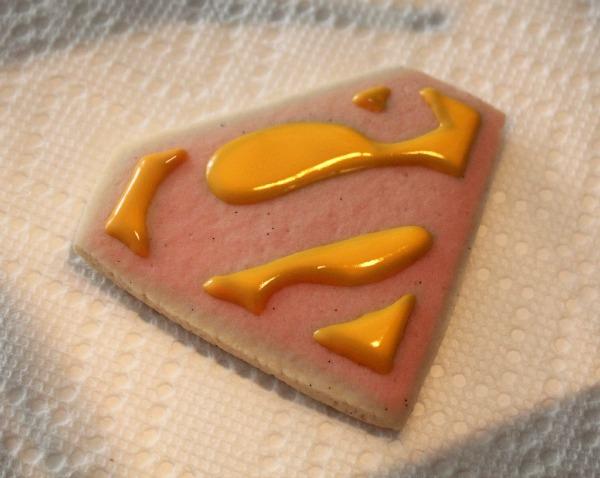 Superman Cookies with Kopykake