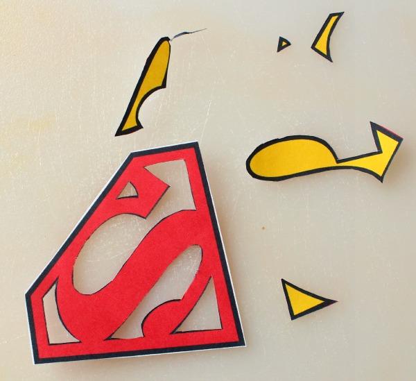 Superman Logo Cookies